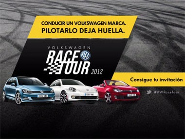 Vídeo del VW RACE Tour 2012