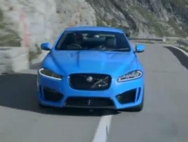 Jaguar XFR-S: el felino más radical, en movimiento
