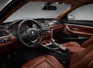 BMW Concept Coupé Serie 4, habitáculo