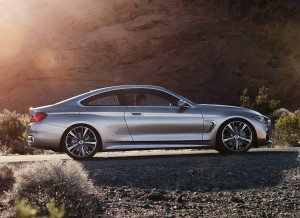 BMW Concept Coupé Serie 4, lateral