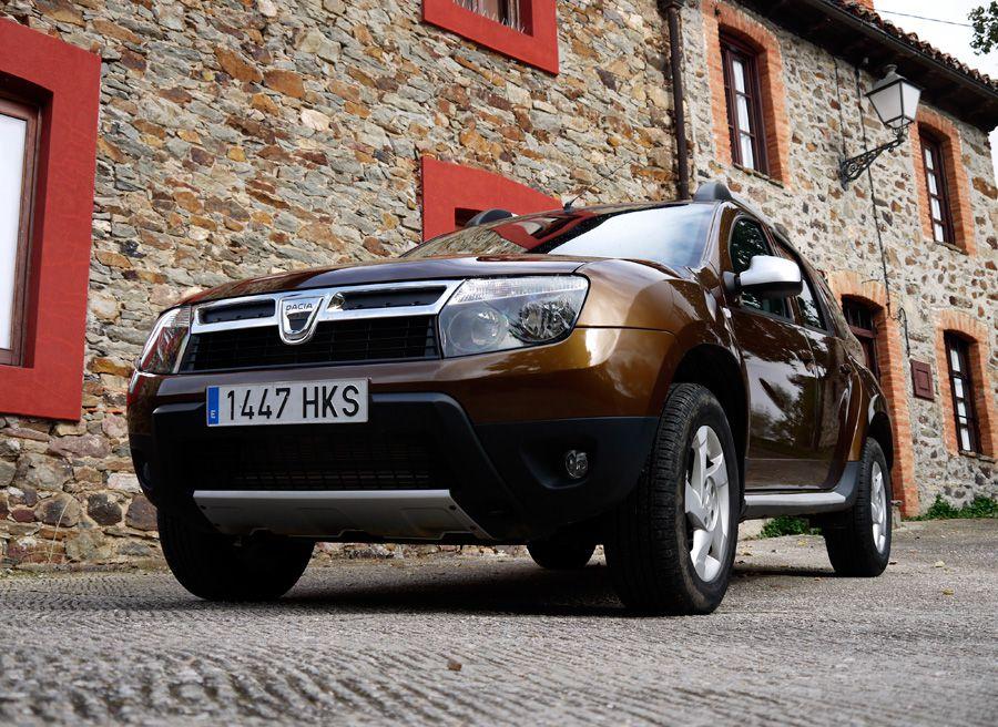Dacia Duster dCi 4x4, La Urz, Rubén Fidalgo