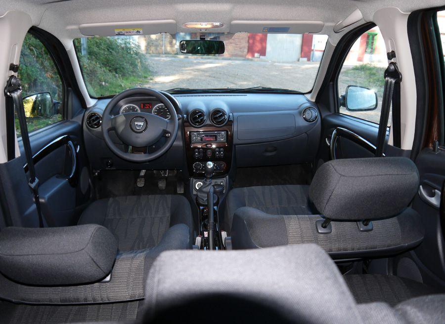 Dacia Duster dCi 4x4, interior, Rubén Fidalgo