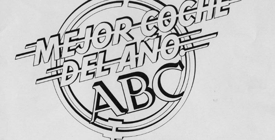 Premio al Mejor Coche del Año ABC, la historia