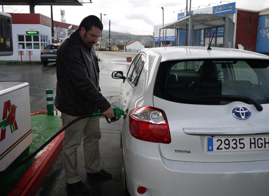 Mitos sobre la gasolina repostar, Rubén Fidalgo