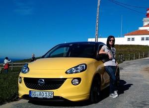 Opel Adam, Cabo de Roca