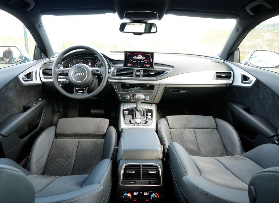 Prueba Audi A7 TDi Biturbo, interior, Rubén Fidalgo