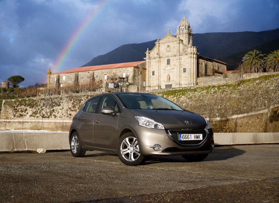 Prueba Peugeot 208 1.2 VTi Allure, Santa María de Oia, Rubén Fidalgo
