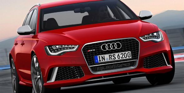 Audi RS6 Avant, con 560 CV de potencia