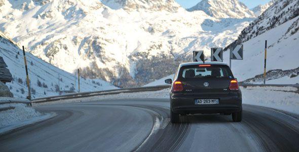Los jóvenes españoles, los europeos que más miedo tienen a conducir con nieve