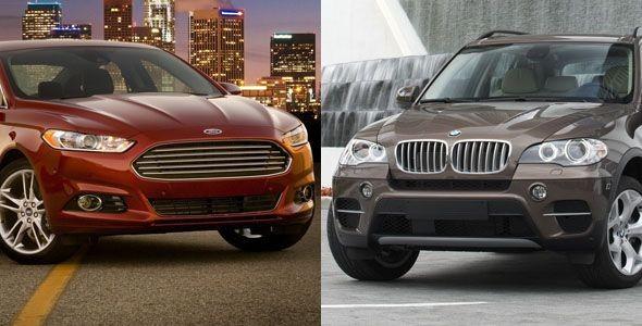 BMW X5 y Ford Fusion, a revisión en Estados Unidos