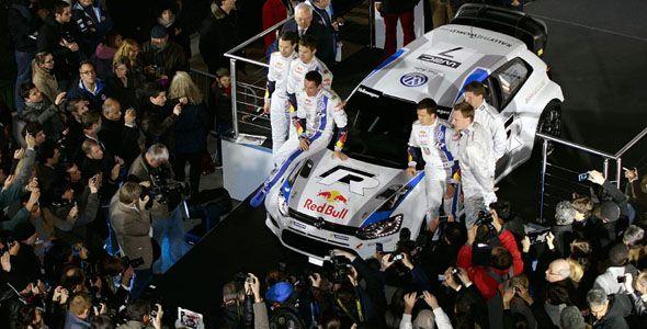 El Volkswagen Polo R WRC se presenta al público