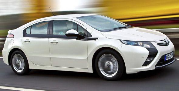 Opel Ampera, el eléctrico más vendido en Europa