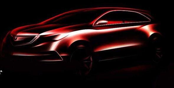 Honda mostrará el concept Acura MDX en Detroit