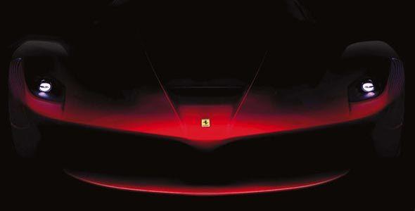 Primera imagen del nuevo Ferrari F70