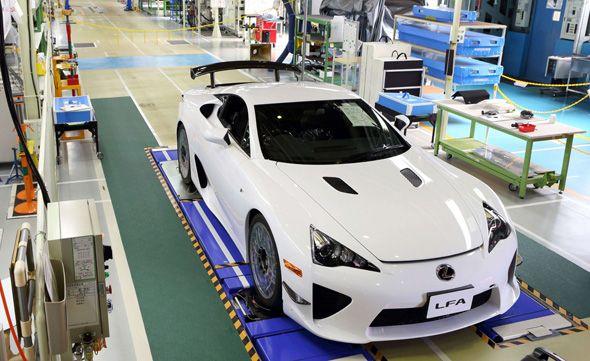 Fin de la producción del Lexus LFA
