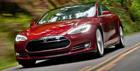 Tesla Model S, llega a Europa en enero
