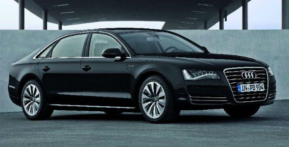 Audi A8 L híbrido, lujo ecológico