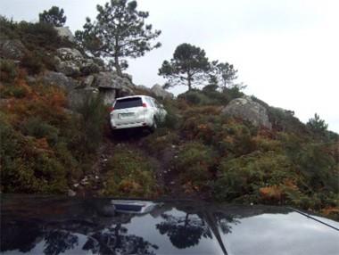 Prueba 4×4 del Toyota Land Cruiser en vídeo