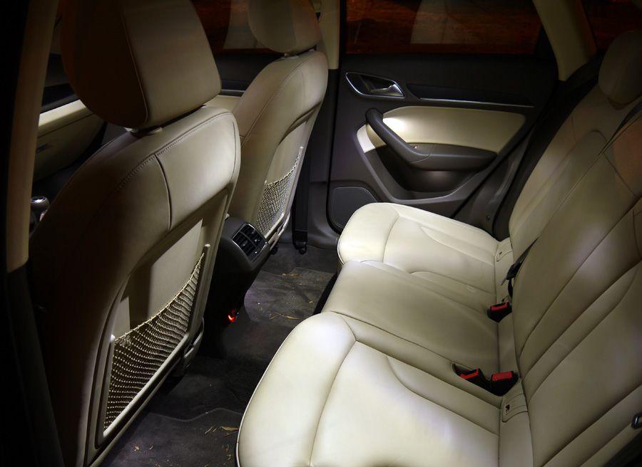 Audi Q3 2.0 TDi 2WD, iluminación, Rubén Fidalgo