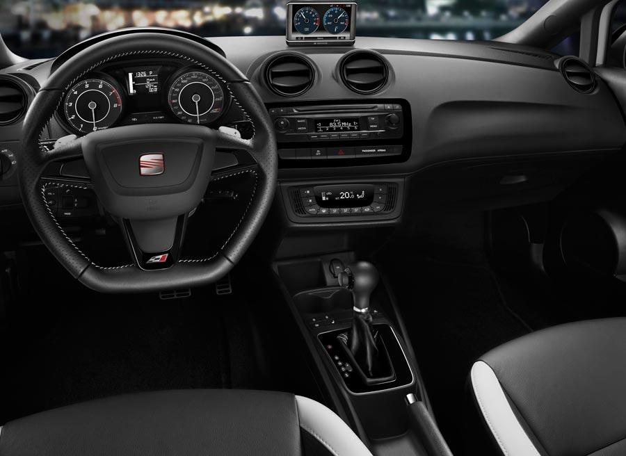 Interior del nuevo Seat Ibiza Cupra.