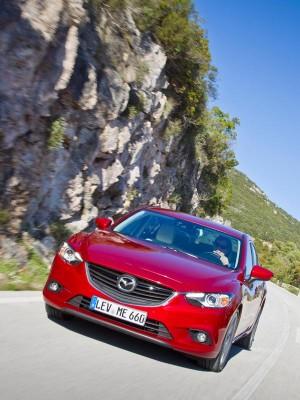 Nuevo Mazda6, frontal