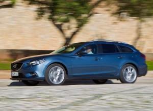 Nuevo Mazda6 Wagon, lateral