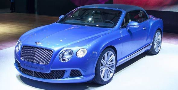 Bentley Continental GT Speed descapotable