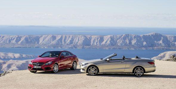 Mercedes Clase E Coupé y Cabrio: nuevo diseño y motores