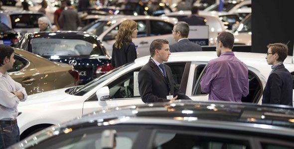 Las ventas de coches usados caen un 7,4% en 2012