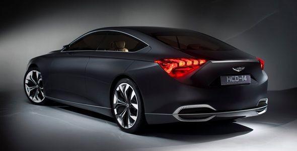 Hyundai HCD-14: un concept premium en el Salón de Detroit