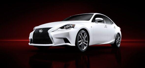 Primeras imágenes de la nueva generación del Lexus IS