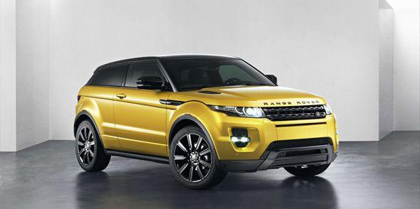 Range Rover Evoque Sicilian Yellow, en el Salón de Barcelona