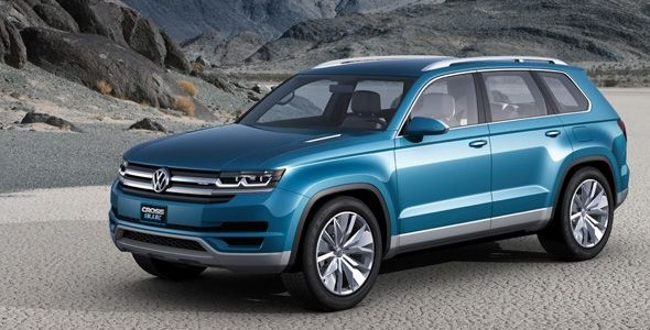 Volkswagen Cross Blue: el SUV híbrido Diésel arrasa en Detroit 2013
