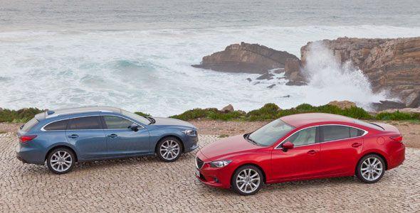 Nuevo Mazda6: al volante