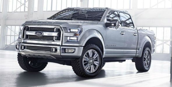 Ford Atlas Concept: el pick up del futuro