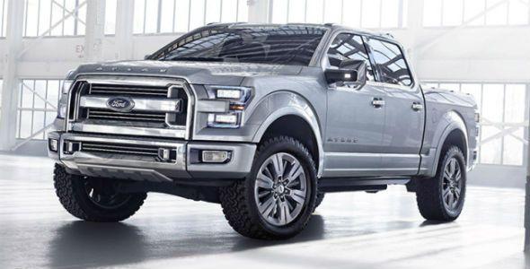 Ford Atlas Concept: el pick up del futuro