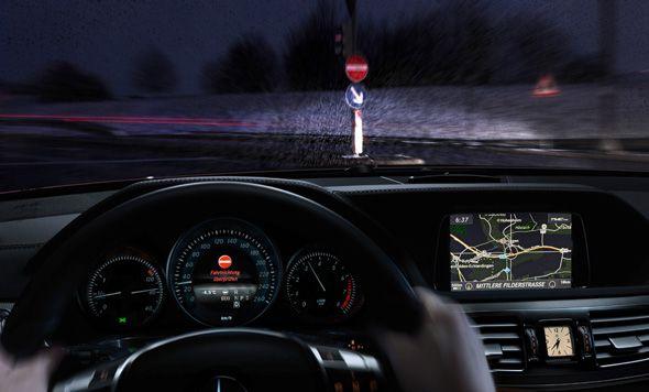 Mercedes Benz desarrolla un sistema anti kamikazes
