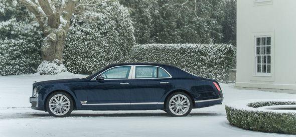 Nuevas especificaciones para el Bentley Mulsanne 2013