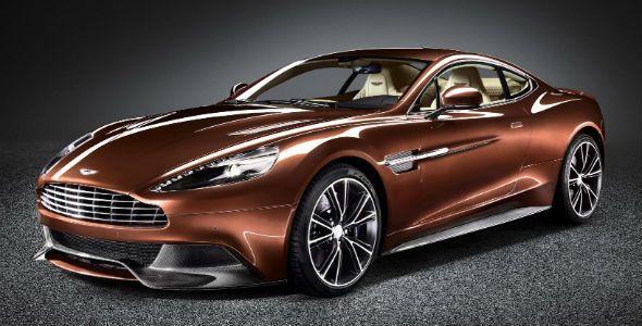 El Aston Martin Vanquish, el súper deportivo más bonito del año
