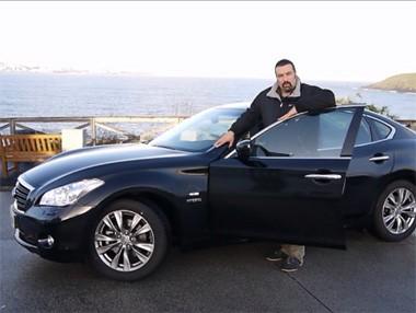 Vídeo prueba del Infiniti M35h GT Premium