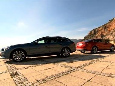Nuevo Mazda6: sedán y wagon