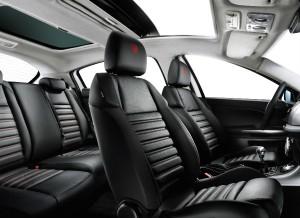 Interior del Alfa Romeo Giulietta Progression. (La versión visionada no se corresponde con la ofertada)