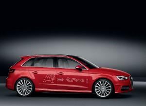 Audi anuncia un consumo de 1,5 litros cada 100 km para el A3 e-tron.