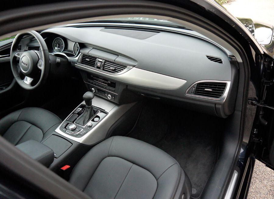 Audi A6 Hybrid, interior, Rubén Fidalgo
