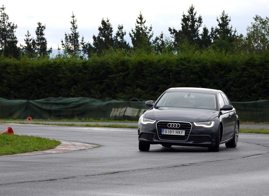 Audi A6 Hybrid, A Pastoriza, Rubén Fidalgo