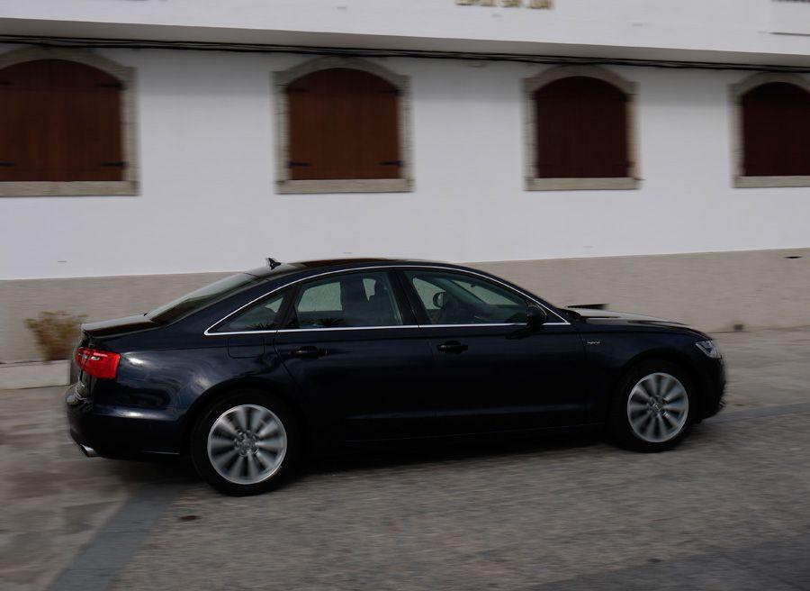 Audi A6 Hybrid, Vigo, Rubén Fidalgo