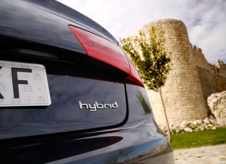 Audi A6 Hybrid, Urueña, Rubén Fidalgo
