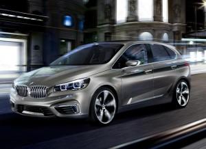 El BMW Concept Active Tourer es un híbrido enchufable que anuncia un consumo de 2,5l/100 km.