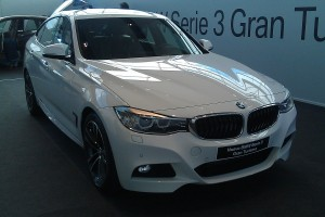 BMW Serie 3 Gran Turismo, frontal