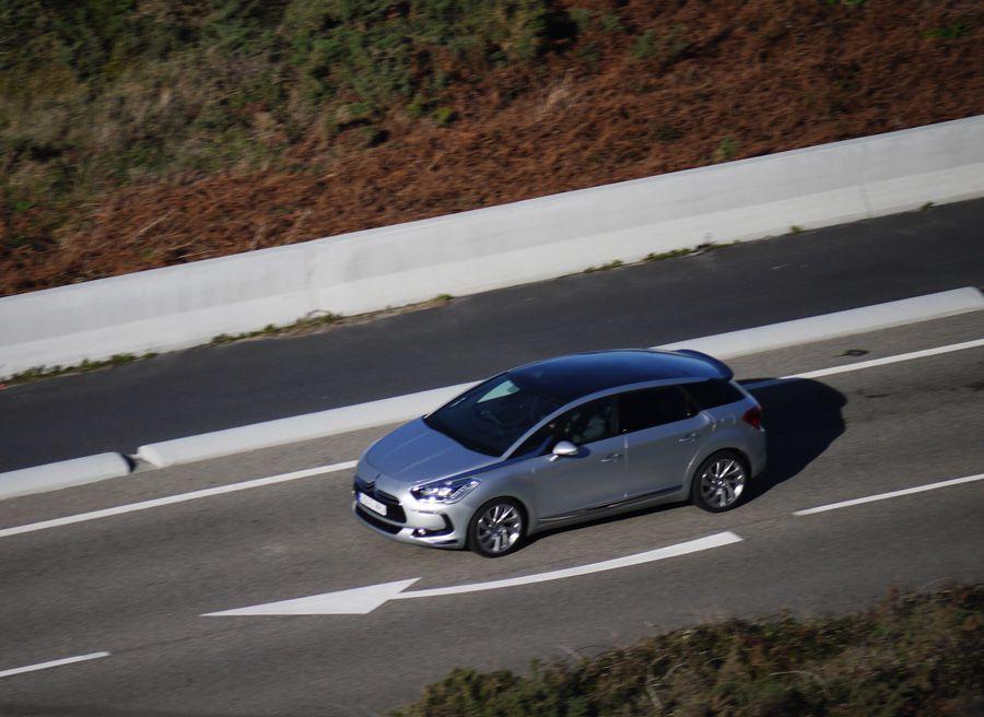 Citroën DS5 HDi 160 CV Sport, Cabo Silleiro, Rubén Fidalgo